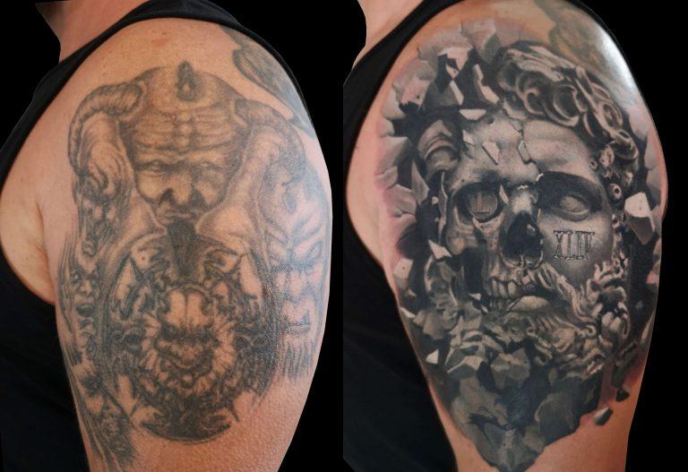 tetoválás takarás