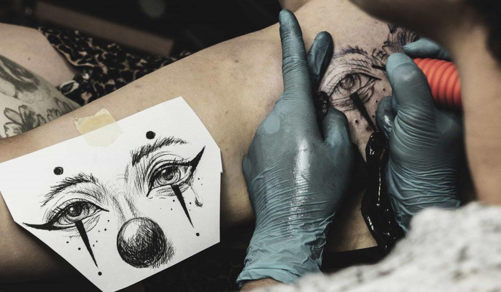 tetoválás készítés