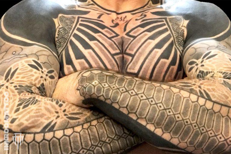 Blackwork tetoválás