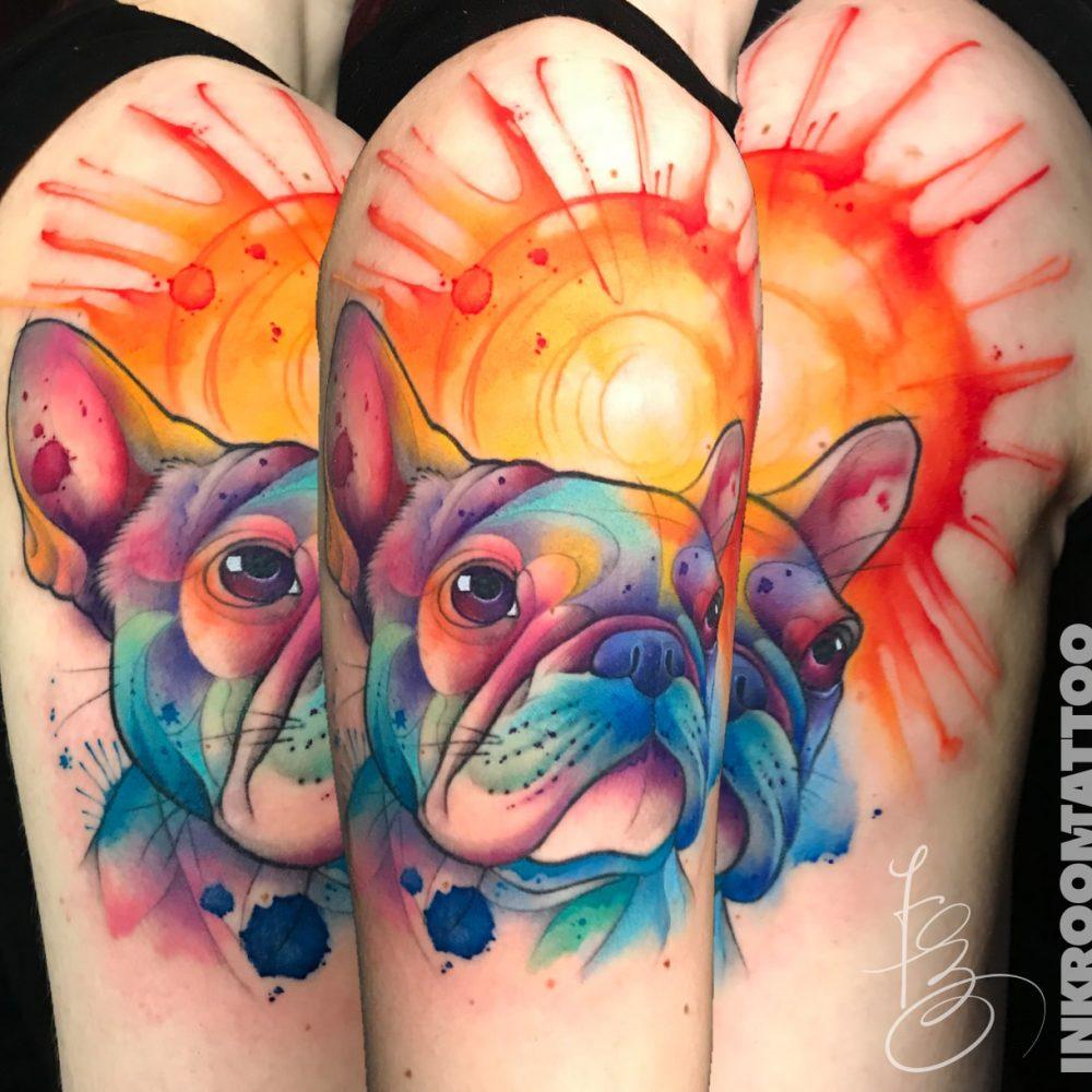 color-tattoo-dog-sketch-watercolor-watercolortattoo-bori-falvay-budapest-budapesttattoo-berlin-berlintattoo-inkroomtattoo-min